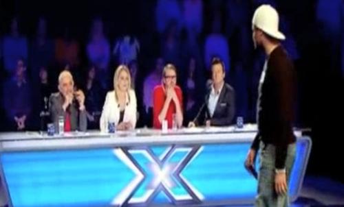 2011.03.29 Passage TV M6 X-Factor EL ANJO