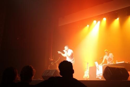 Concert EL ANJO à Morangis (91) - sound system & acoustique solo 150 Ans de la croix rouge el Anjo:Marion:Damien:C-Kah:selecta Newik - Salle des fêtes