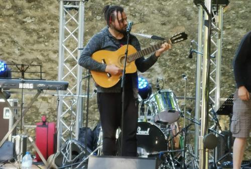 2018/06/21 concert EL ANJO à Angerville - Parc Roger Leclainche
